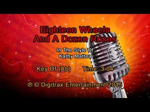 Kathy Mattea - Eighteen Wheels And A Dozen Roses (Backing Track)