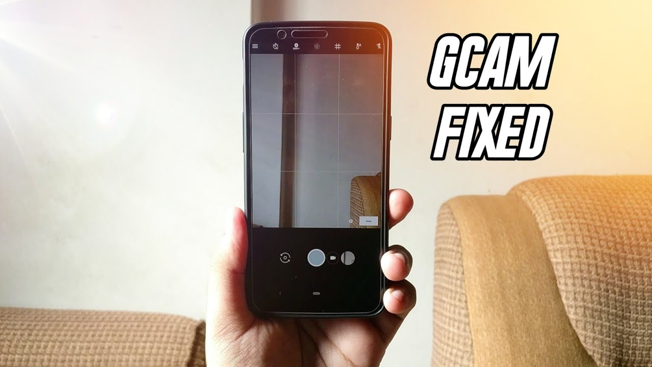 How To Fix Google Camera Crash On Android P GSI | Best Google Camera For  Android P