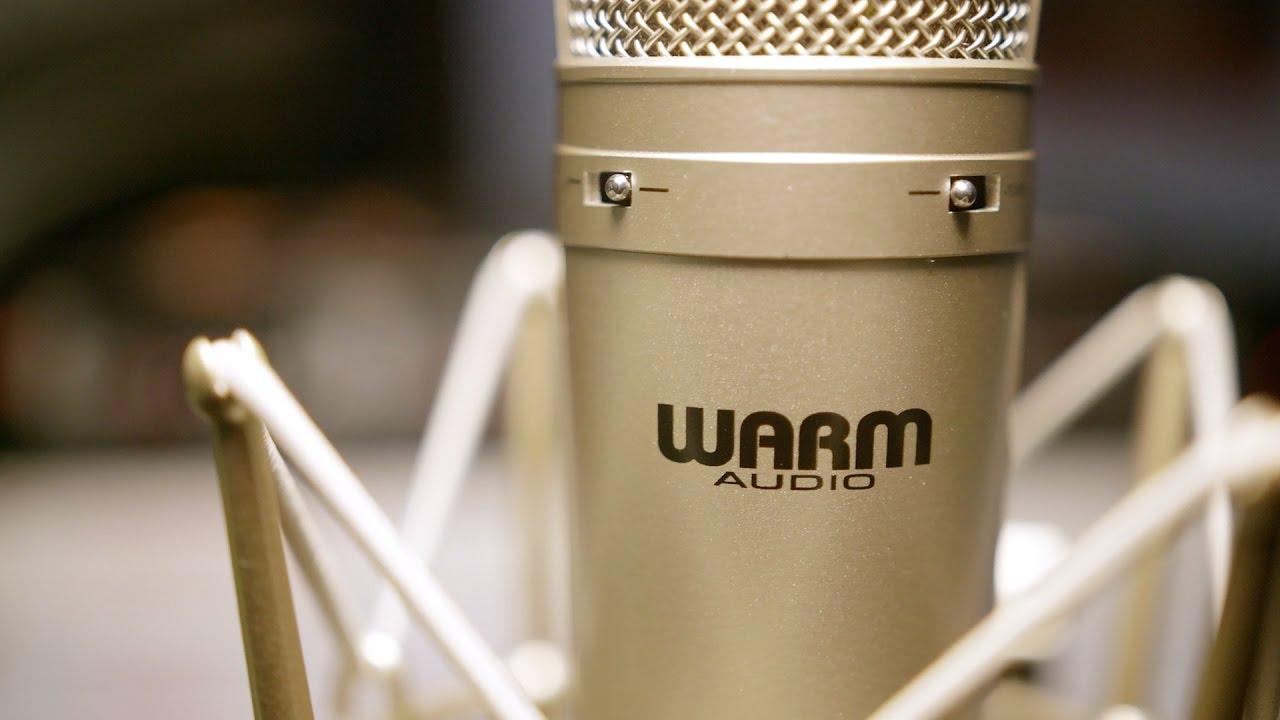 WA-87 - קונדנסר  דיאפרגמה רחבה מ-Warm Audio