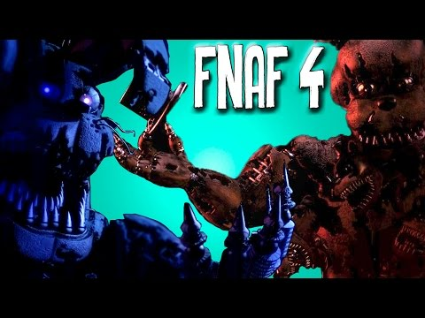 TEORIAS DE FIVE NIGHTS AT FREDDY'S 4 [#1] (OPINIÃO SINCERA)