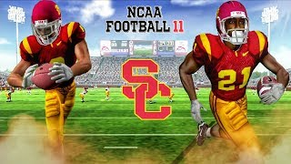 Playing NCAA Football 11 Ten Years Later in Super HD Quality! NCAA Football 11 PS2 Gameplay!