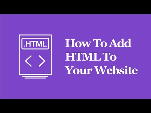 How To Edit Or Add HTML Code To Your Site