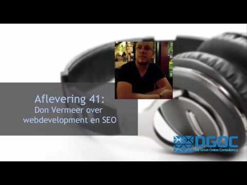 #41 Bij Don Vermeer vormen webdevelopment en SEO een gelukkig huwelijk