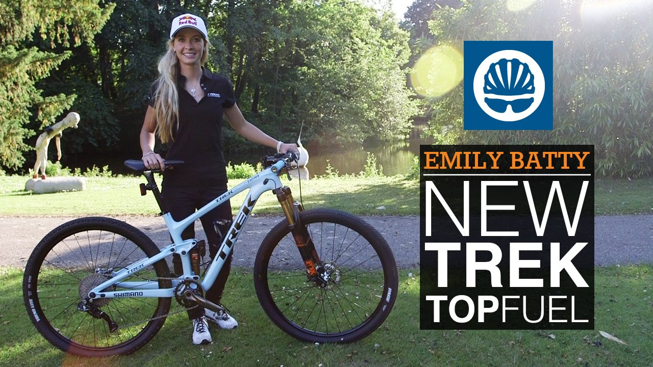 Emily Batty's New Trek Top Fuel Team Issue - YouTube