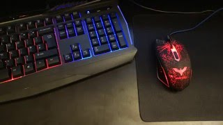 HAVIT HV-KB562CM Mouse & Keyboard Combo Review - By TotallydubbedHD