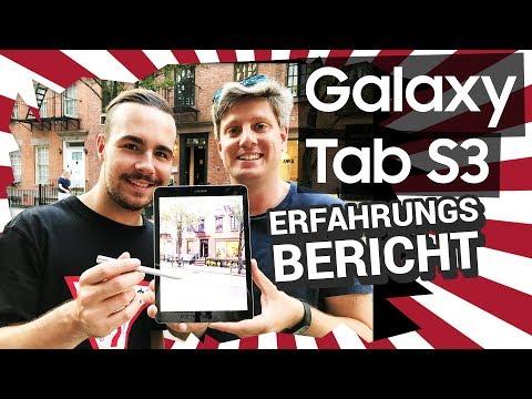 Samsung Galaxy Tab S3: Unser Erfahrungsbericht aus New York!