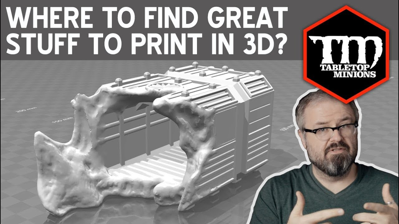 Where to Find Great Wargaming Stuff to 3D Print?