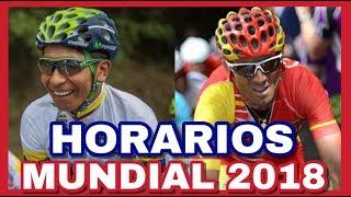 HORARIOS Y Días Del MUNDIAL 🌈 De Ciclismo 2018 En Innsbruck