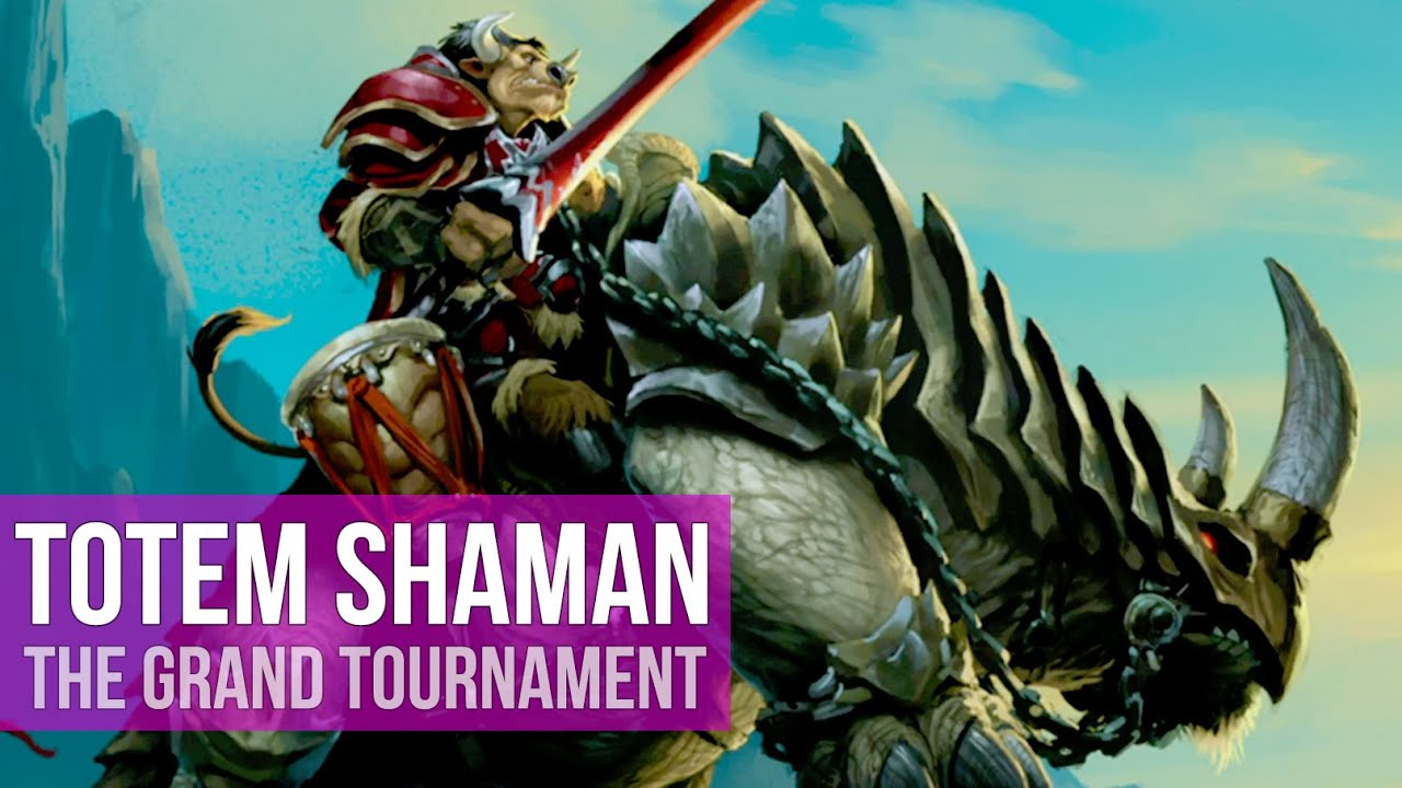 Hearthstone - The Grand Tournament: Totem Shaman Deck! (Gameplay ...