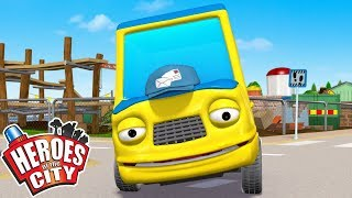 Heroes of the City - Percy Postponed | Cartoons For Kids | Vehicles For Kids | Car Cartoons