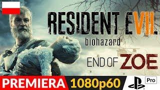 RESIDENT EVIL 7 PL 🍿 DLC #4 Koniec Zoe / End of Zoe 🍿 Zapis LIVE (kam + puls)