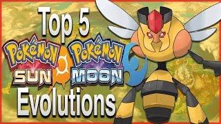 Top 5 Evolutions/Pre-Evolutions for Pokémon Sun and Moon