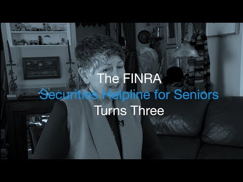 Three-year Anniversary of FINRA Securities Helpline for Seniors Marked by Investor Success