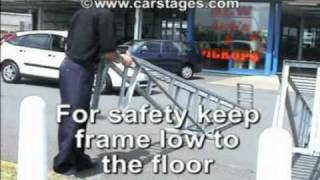 Car Display Ramps Saftey Video