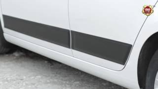 Молдинги на двери (вариант 2) Volkswagen Golf VI 2009-2012 (russ-artel.ru)
