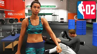 Stacy the Personal Trainer 😍 - NBA 2K20 My Player Career Part 2