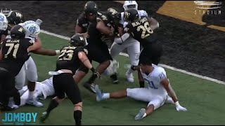 Wake Forest QB is running everyone over, a breakdown