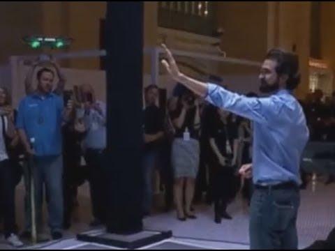 NEW DRONE TECH: DJI Spark Demo (Palm Control | Hand Gesture Sensor)