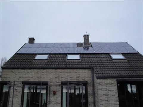 Installation Panneaux photovoltaïque - solaire - 5850 WC - Sunpower