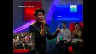 Mr Reth Bora sings Sok Pisey song 100% like At MYTV