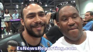 "KEITH THURMAN goes after BRANDON RIOS!!! ""I"