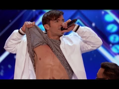BOY BANDS 5 Alive make Mel B can't sit America's Got Talent 2017