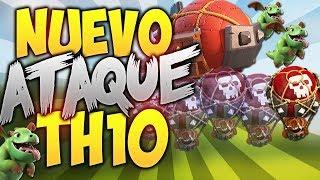 NUEVO ATAQUE TH10   GHOST ELECTRO BABYS   Clash of Clans  