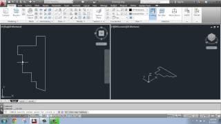 AutoCAD 2013 - 3D Modeling Basics #8 - Revolve - Brooke Godfrey