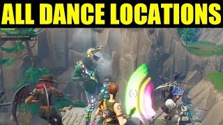"Fortnite - ""Dance On top of"" location guide (Clock Tower, Pink Tree, porcelain throne) Week 4 Guide"