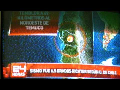TEMBLOR CONCEPCION 02/11/11 EARTHQUAKE CHILE FEBRUARY 27 LIVE FOOTAGE NEWS COVERAGE