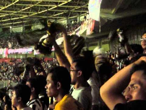Supporter Juventus VS ISL All Stars GBK Stadium Jakarta 6 August 2014