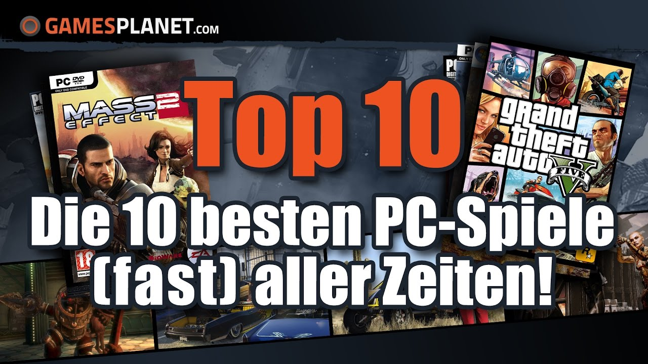 Top 10 Computerspiele