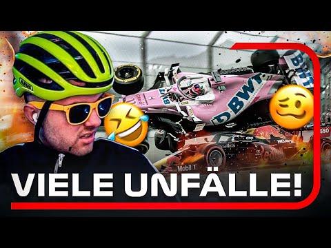 MÖCHTEGERN PROFI mit CRASH COMPILATION... 😂 Formel 1 2021