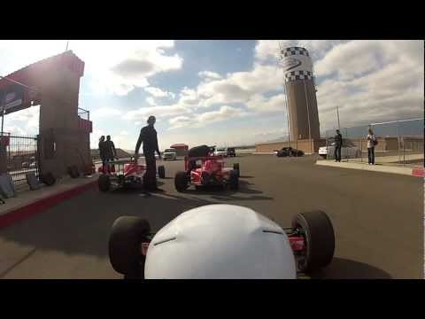 Formula 3 driving school at Fontana.