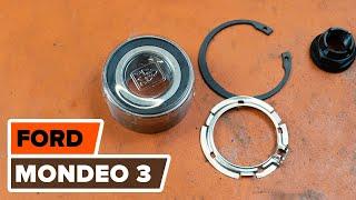 Comment remplacer des roulement de roues avant sur une FORD MONDEO 3 TUTORIEL | AUTODOC