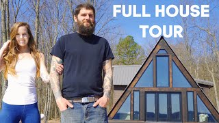 Full House Tour | Family Builds Home With No Experience
