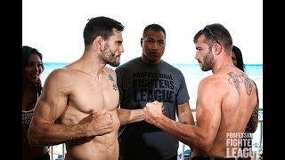 Professional Fighters League: Daytona Weigh-Ins
