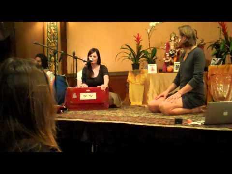 Manorama Chanting: Jivamukti Yoga Tribe Gathering 2012