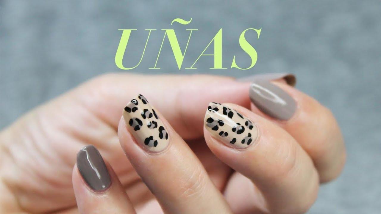 Dise o de u as animal print leopardo for Disenos para decorar unas