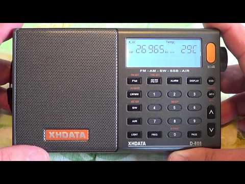 My Top Ten Shortwave Radio I Own XHDATA D808 LW AM FM SW Air Band Receiver