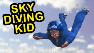 6-Year-Old Skydiver