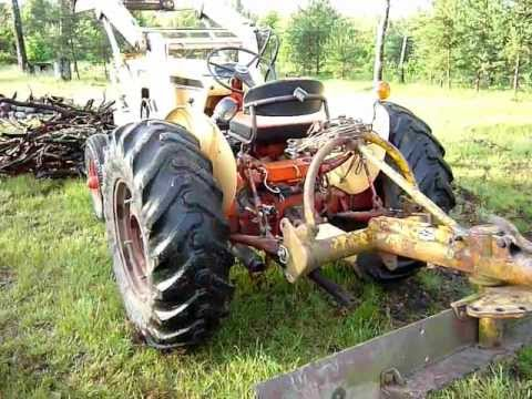 hqdefault 1960 case 530 tractor front loader youtube case 530 tractor wiring diagram at soozxer.org