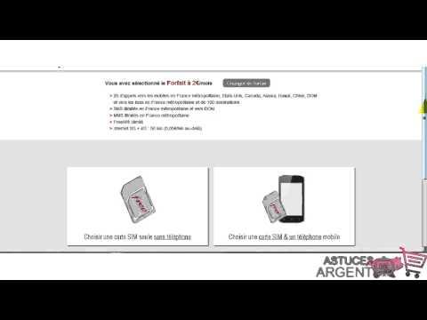 Comment s'inscrire au forfait free 2 h à 0 euro avec la freebox