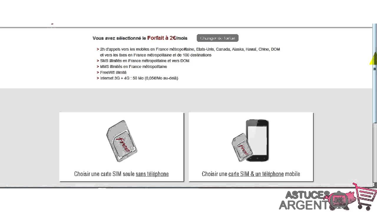 comment s inscrire a free mobile