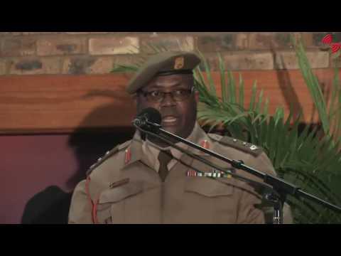 Memorial Service of SANDF Chief of Joint Ops Lt Gen D.D. Mdutyana