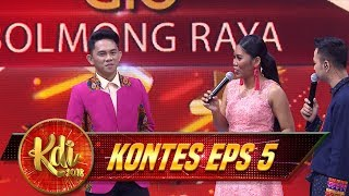 Download Video Waduh, Waode Cemburu Berat Nih Sama Evi Masamba - Kontes KDI Eps 5 (10/8) MP3 3GP MP4