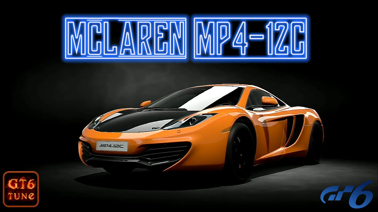 Gt6 top speed tune for the mclaren mp4 12c 2010 287mph461kph gt6 top speed tune for the mclaren mp4 12c 2010 287mph461kph ps3 vanachro Images