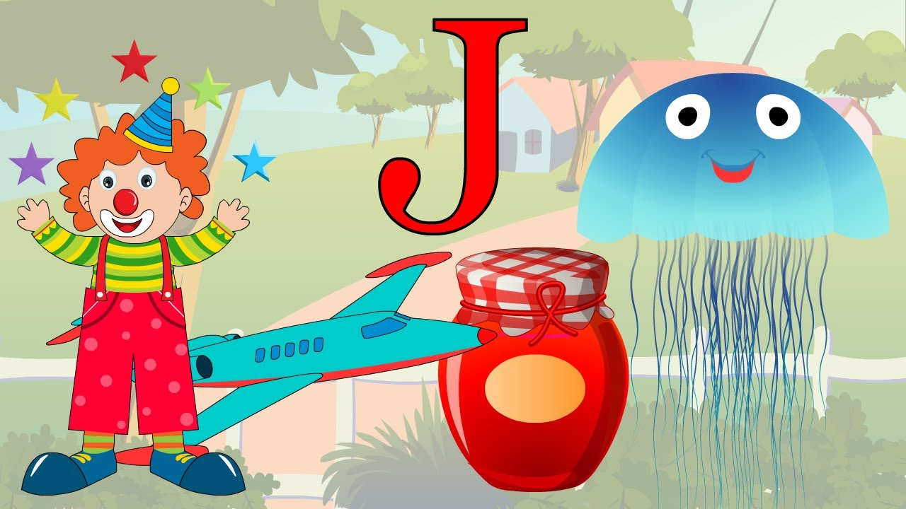 Learn About The Letter J Preschool Activity Youtube