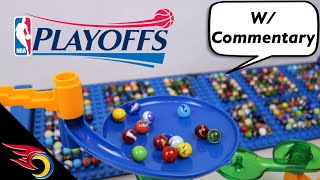 Marble Race: NBA Playoffs 2019 - Who Wins the NBA Finals? | Toy Racing