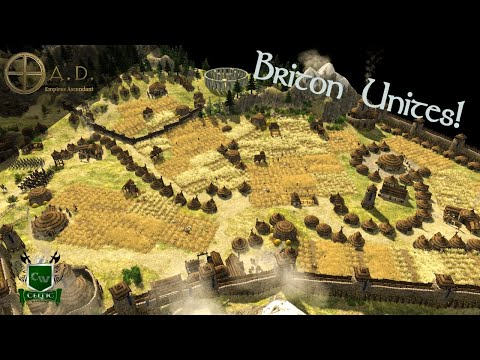 DRIVING THE ROMANS FROM BRITAIN! 0 A.D. Gameplay